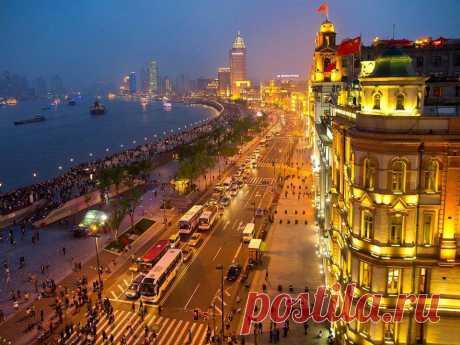 (65) Una tarde en el Bund, Shanghai, China -