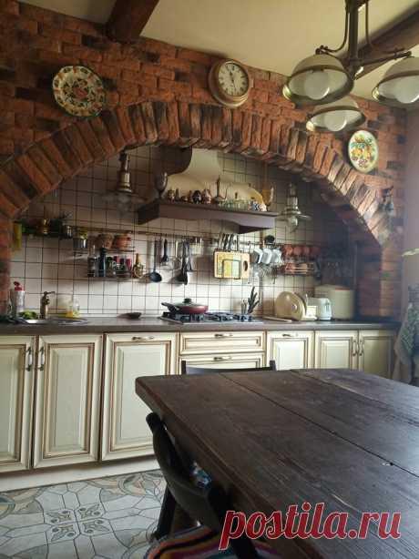 Сам себе дизайнер. Моя деревенская кухня в панельном доме   уДачи!   Яндекс Дзен