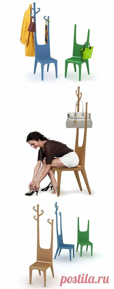 Если мало места в прихожей / Организованное хранение / Модный сайт о стильной переделке одежды и интерьера