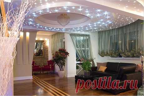 Установка точечного освещения для потолка — Роскошь и уют