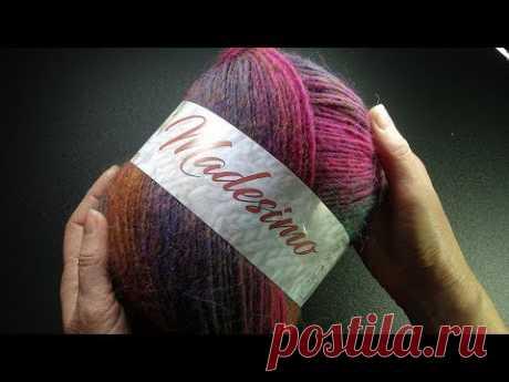 НОВИНКИ итальянской пряжи магазина www.100wool.it Madesimo Tito Tiberio Pastel 2.0
