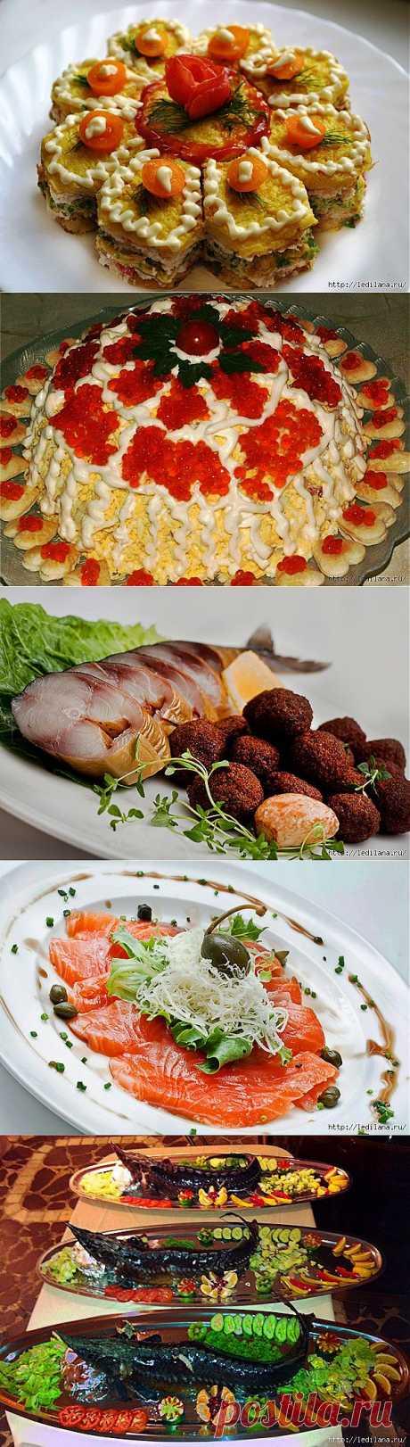 Постные монастырские блюда.