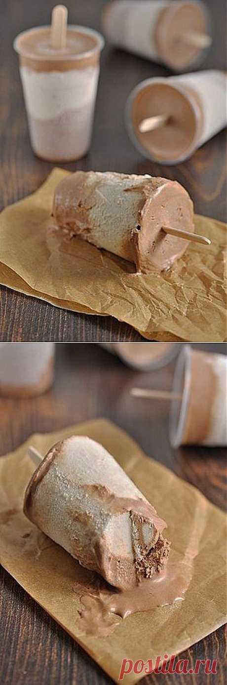 Сливочно-бананово-шоколадное мороженое | Семья и дом
