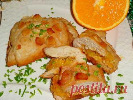 Филе индейки с апельсинами в духовке — Sloosh – кулинарные рецепты