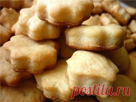 Оригинальное печенье из плавленных сырков и без сахара