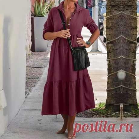 Бохо платье-рубашка «Асия» – заказать на Ярмарке Мастеров – LP3YQRU | Платья, Москва