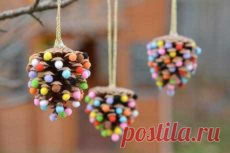 Поиск на Постиле: новогодные игрушки своими руками
