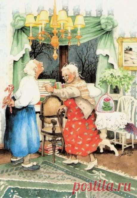 Веселые стихи про бабулек!!:)