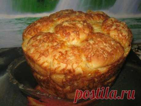 Хлеб с чесноком и сыром | Банк кулинарных рецептов