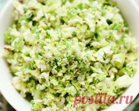Recipes of salads for weight loss