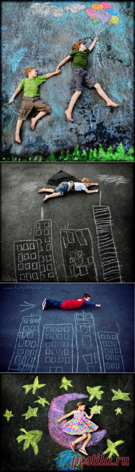 Идеи для детских фотографий