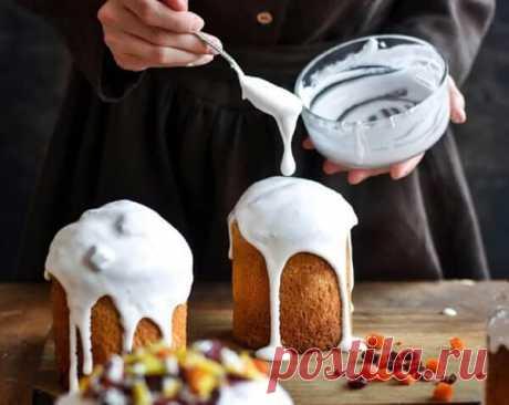 6 лучших рецептов глазури для куличей на любой вкус