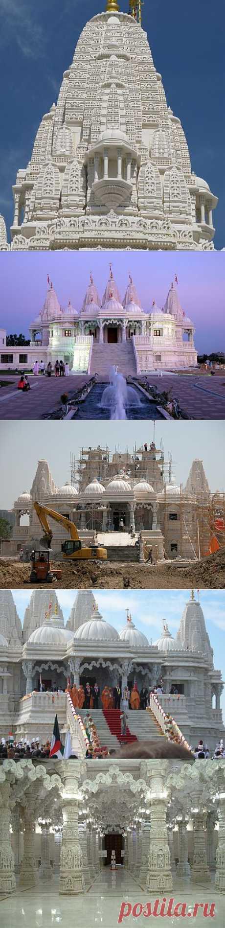 Храм построенный без единого гвоздя. Тончайшие мраморные кружева со сложным трёхмерным узором « Архитектура « Art-Caucasus