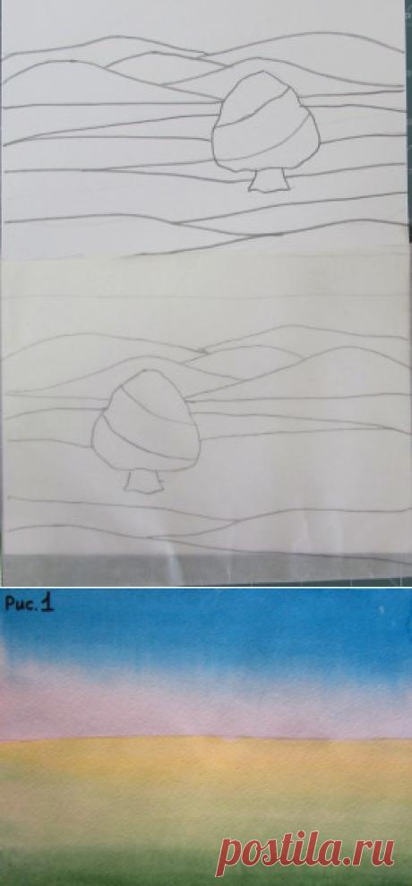 Блог о рукоделии | Как нарисовать картину | Как сшить куклу