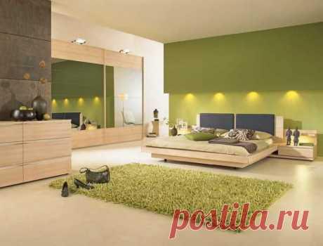 спальня в зеленых тонах фото и идеи дизайна: 2 тыс изображений найдено в Яндекс.Картинках