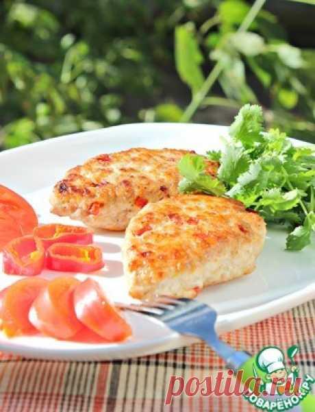 Домашние котлеты с болгарским перцем - кулинарный рецепт