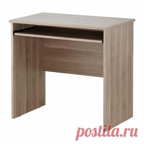 ТОДАЛЕН Стол для компьютера - серо-коричневый - IKEA