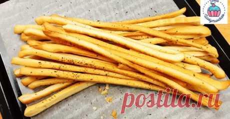 Вкуснющие хлебные палочки Кулинарный Видео Блог