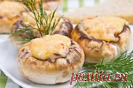 5 лучших рецептов фаршированных и запеченных грибов