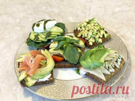 5 лучших рецептов тостов с авокадо