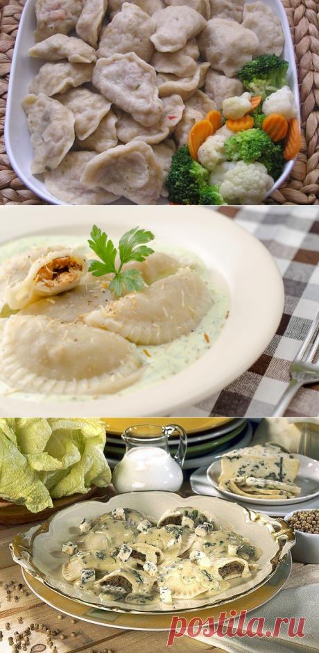 Рецепты по четвергам. Клёцки, ньокки, галушки, вареники. Вареники с грибами (2)