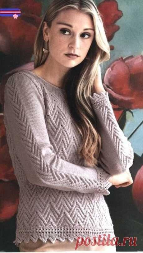 Джемперы. Вязание спицами. Схемы. | Марусино рукоделие | Яндекс Дзен