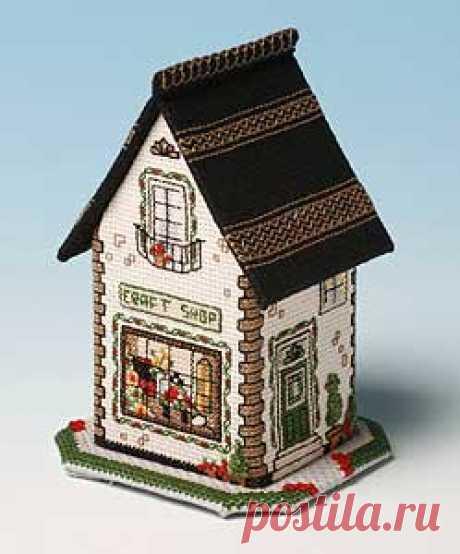 Craft Shop v miniaturních obchodech se nachází v The Nutmeg Company