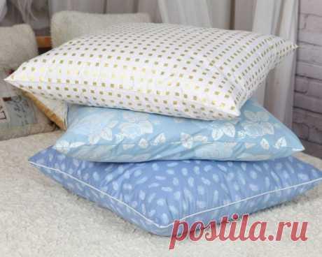 Мы расскажем о нескольких простых вариантах, как как постирать перьевую подушку в домашних условиях.