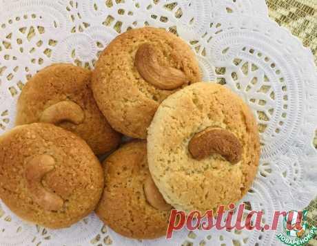 Печенье с кешью – кулинарный рецепт