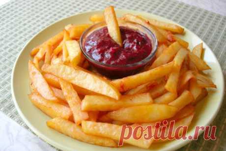 Картофель фри в духовке как в Макдоналдс, рецепт с фото и видео