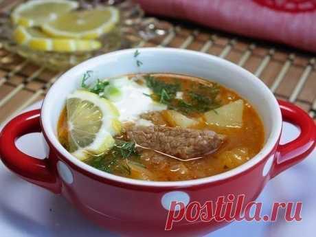 Как приготовить суп - гуляш по - тирольски - рецепт, ингредиенты и фотографии