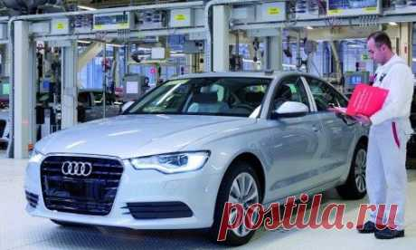 Работник на завод Audi в Голландии