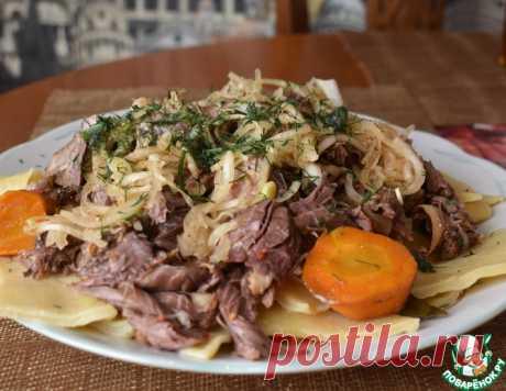 Бешбармак по-моему – кулинарный рецепт