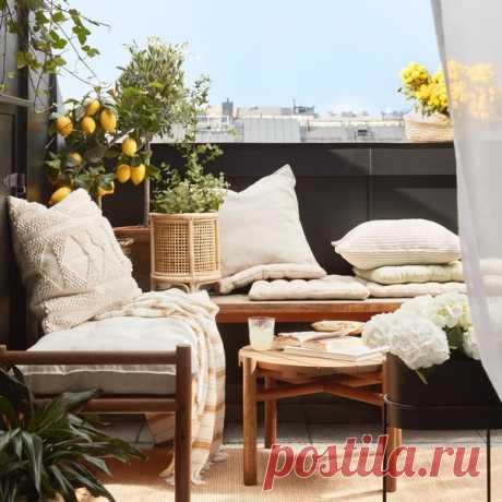 Хотите стильно украсить крошечный балкон или огромный сад, чтобы в полной мере наслаждаться теплой погодой? Для создания уюта воспользуйтесь нашими новыми цветочными горшками и предметами уличного декора из коллекции H&M Home. 😉🌿 #HMHome