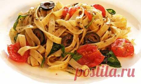 Вкуснейшие рецепты пасты для любителей итальянской кухни