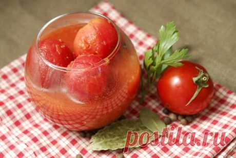 Помидоры в собственном соку на зиму. Сочные помидорки в томате