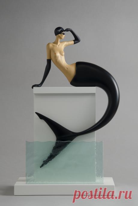 """Sculpture - Wood sculptures by artist: """" John Morris """"."""