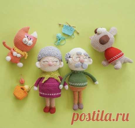 Старички другие игрушки  #кукла_МЗ