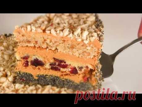 """Торт """"СТАКАННИК"""" / Очень вкусный Торт со сгущенкой"""