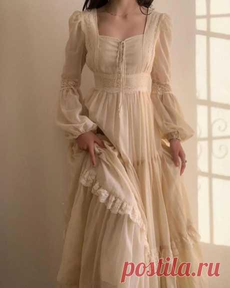 Очаровательные ретро-модели платьев