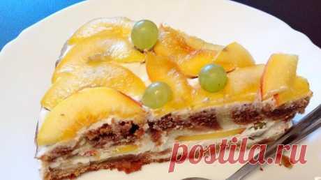 Нежный торт в творожным кремом Торт с творожным кремом обладает невероятно нежным вкусом, и понравится всей семье. Ингредиенты: • яйца – 2 шт.; • масло растительное -125 г; • молоко – 225 г; • сметана – 75 гр.; • сахар – 200 гр...