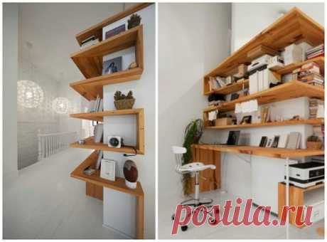 How to make useful and beautiful all corners in the house