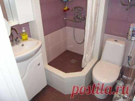 дизайн маленькой ванны совмещенной с туалетом– Google Поиск