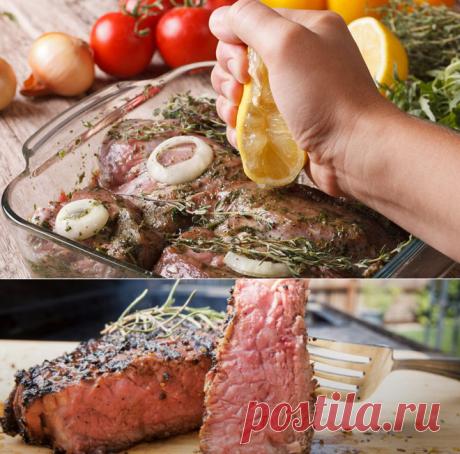 Мясо тает во рту: размягчаем свинину маринадом и раскрываем вкус