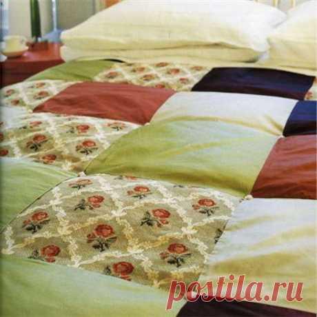 Лоскутное одеяло для начинающих
