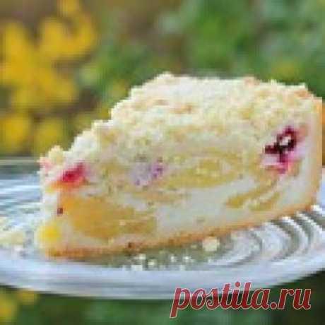 """Яблочный пирог """"Нежность"""" Кулинарный рецепт"""