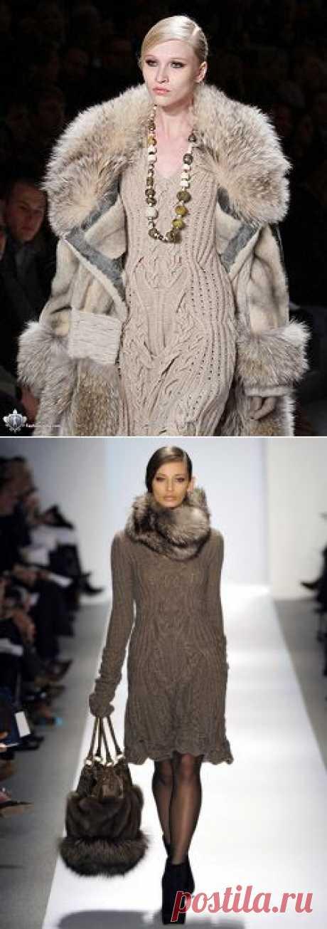 Теплое вязание