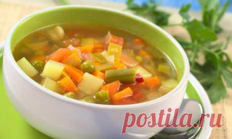 Рецепты супов, которые помогут сбросить лишний вес — Худеем вместе