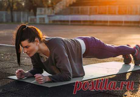 5 причин делать планки каждый день – нагружает все ваше тело, и сжигает уйму лишних калорий
