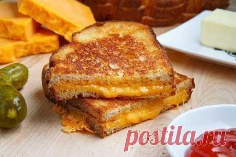 Как приготовить идеальный сырный сэндвич - рецепт, ингридиенты и фотографии
